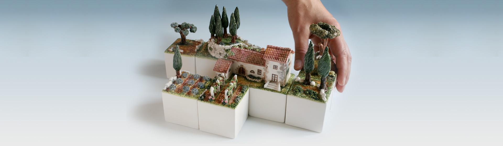 cube club paesaggio modulare